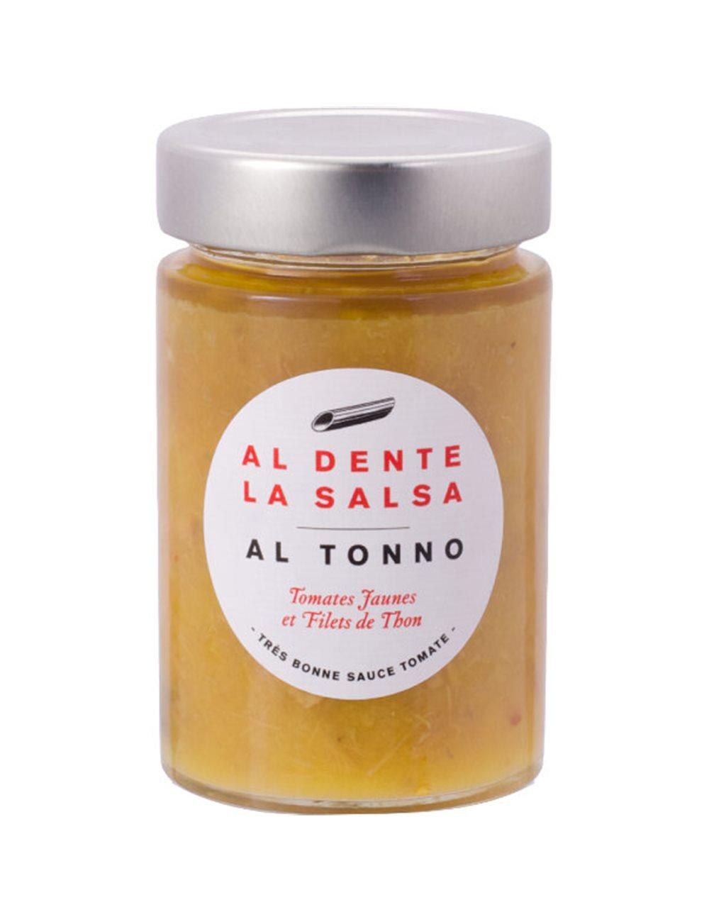 Tomatensaus Tonno met gele kerstomaten 200g