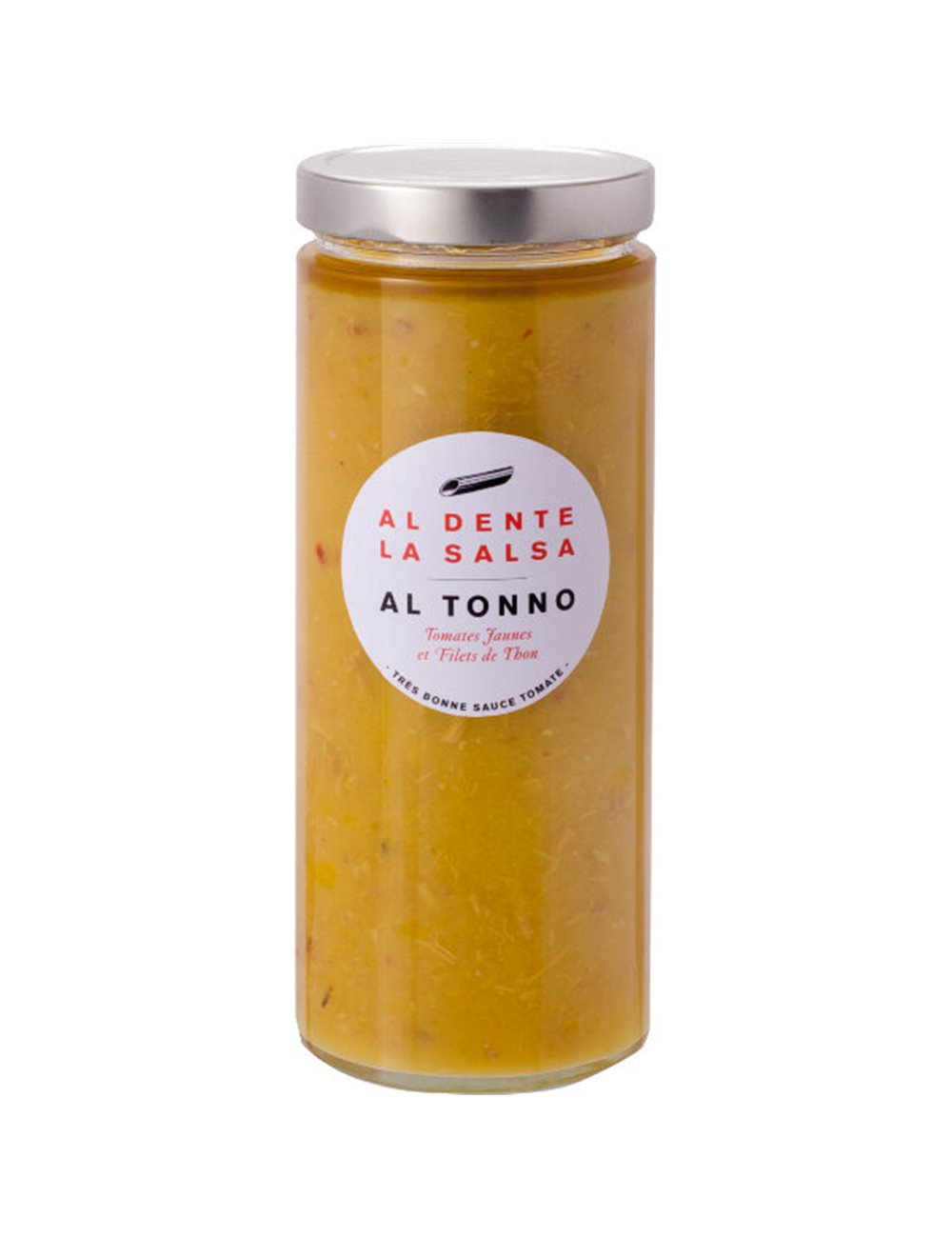 Tomatensaus Tonno met gele kerstomaten 980g