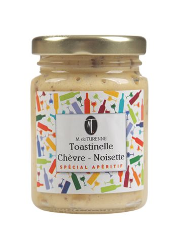 Toastinelle Chevre Noisettes 80 G