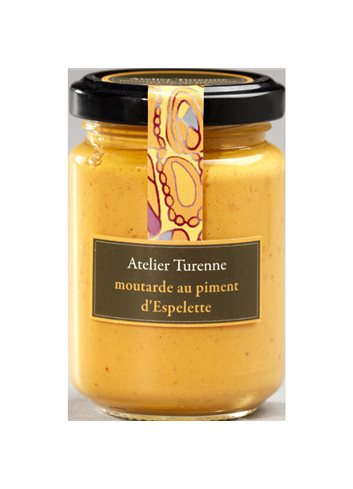 Moutarde Au Piment D'Espelette 150g