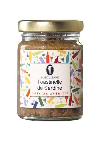 Toastinelle De Sardine Au Citron 80g