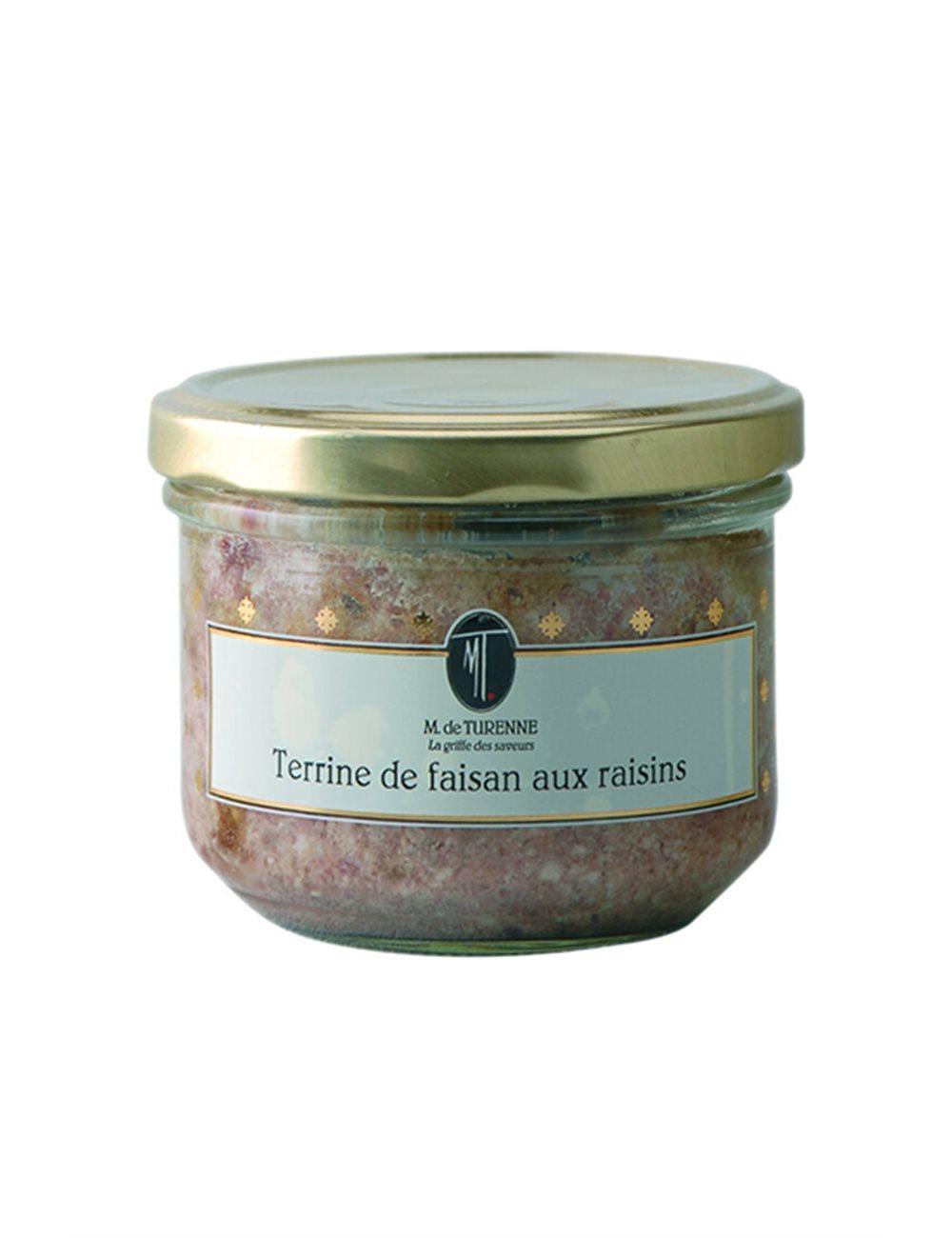 Terrine van Fazant met Rozijnen 180g
