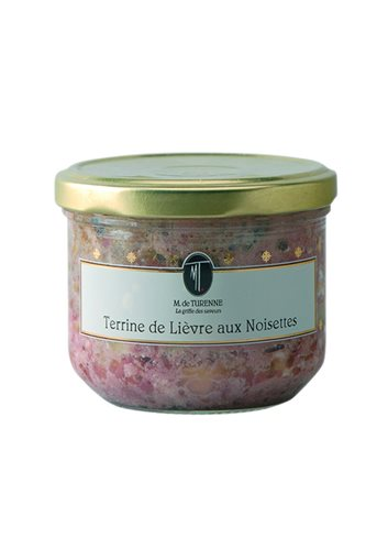 Terrine De Lievre Aux Noisettes 180g