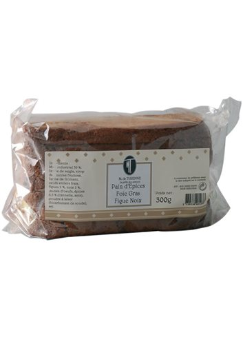 Pain D'Epices Figue Noix 210g Special Foiegras