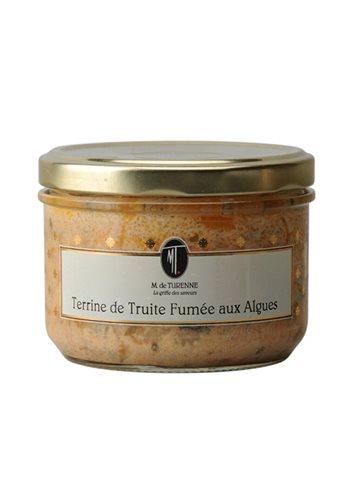 Terrine De Truite Fumee Aux Algues 200g