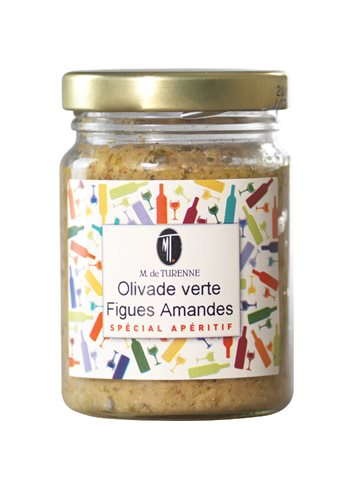 Olivade Verte A La Figue & Amandes 106ml