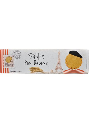 Franse Boterkoekjes  125g
