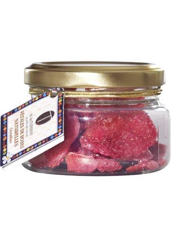Gekristaliseerde Roseblaadjes 35g