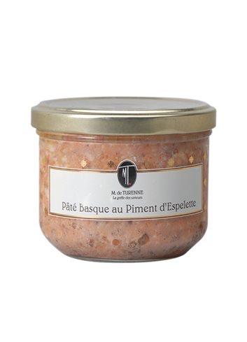 Pate Au Piment D' Espelette 180g