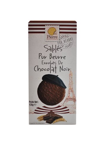 Chocoladises noir Pierre Biscuiterie 135g