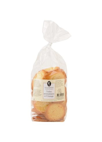 Tuiles Orange & Pepites Chocolat 175g