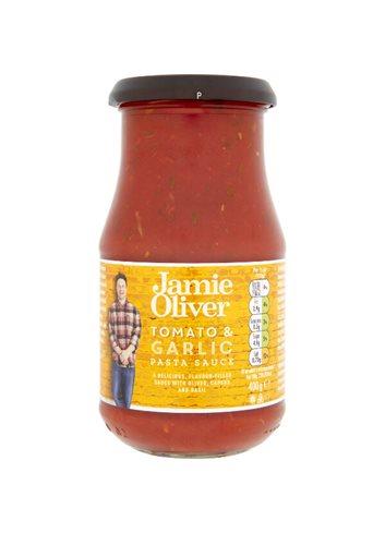 Sauce Tomate à l'ail avec Olives 400g