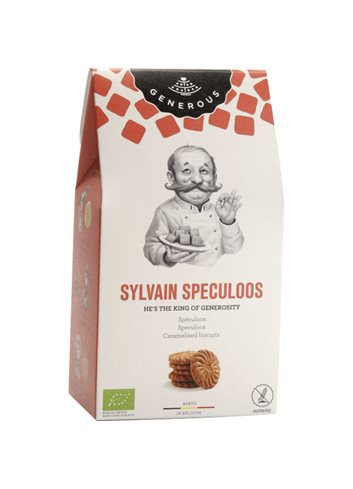 Sylvain Speculoos BIO (glutenvrij) 100g