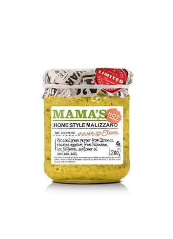 Malizzano,Sauce Poivron Vert Piquante 200g