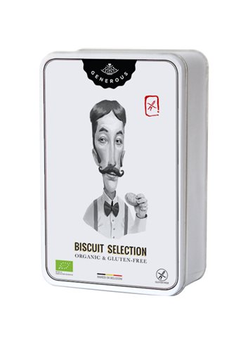 Biscuit Selection BIO (glutenvrij) 240g