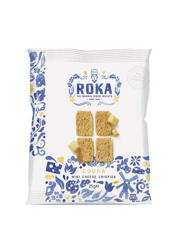 Mini Cheese Crispies Gouda (Sachet) Bleu de Delft 25g