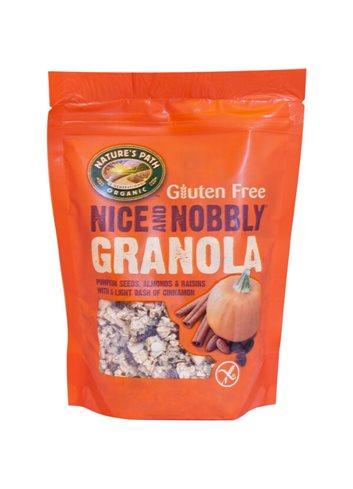 Nice & Nobbly Granola honing & amandelen (box) BIO/Glutenvrij 325g