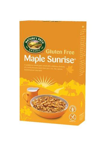 Maple sunrise (mais, rijst, lijnzaad, quinoa, amarante, esdoorn & boekwijt) BIO/Glutenvrij 332g