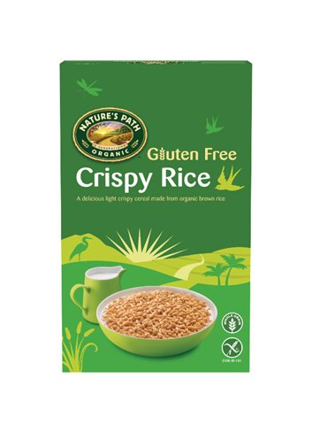 Crispy Rice (bruine rijst cereal) BIO/Glutenvrij