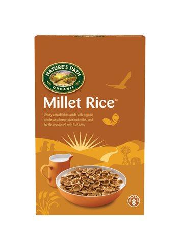 Millet Rice (haver, bruine rijst & gierstvlokken) BIO/Glutenvrij