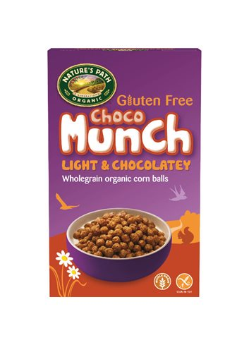 Choco Munch BIO/Glutenvrij (chocolade mais bolletjes)