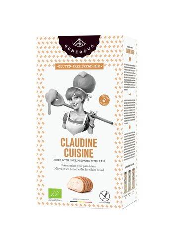 Claudine Cuisine - Mix voor wit brood  BIO (glutenvrij)