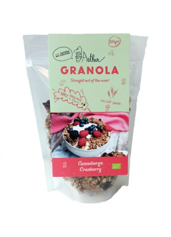 Granola - Canneberges - 300g