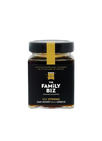 """Natuurlijke eiken honing """"Bee Strong"""" 250g"""