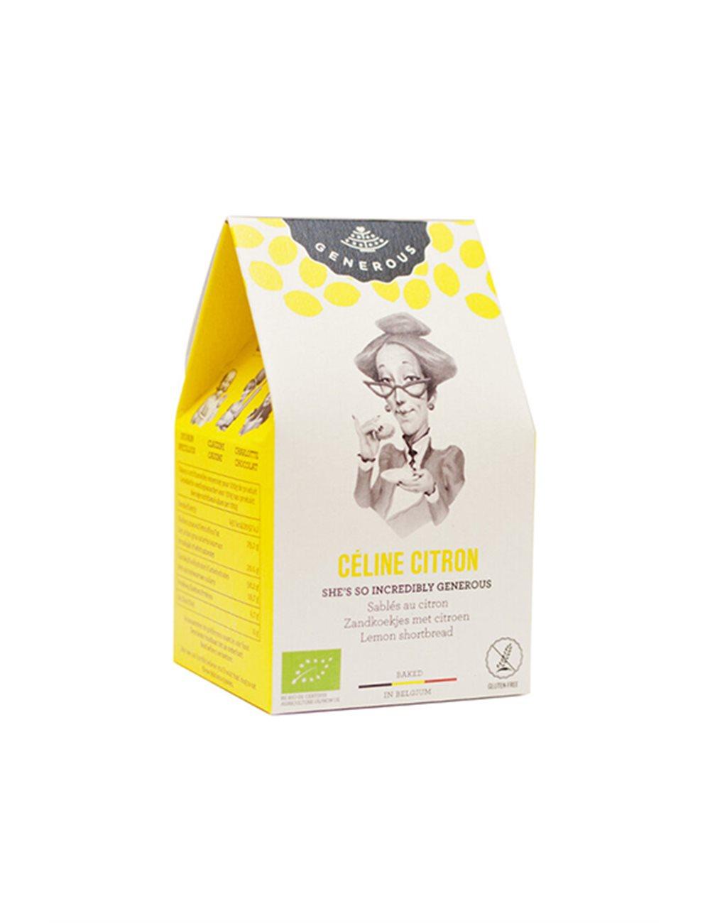 Céline Citron BIO (glutenvrij) 40g