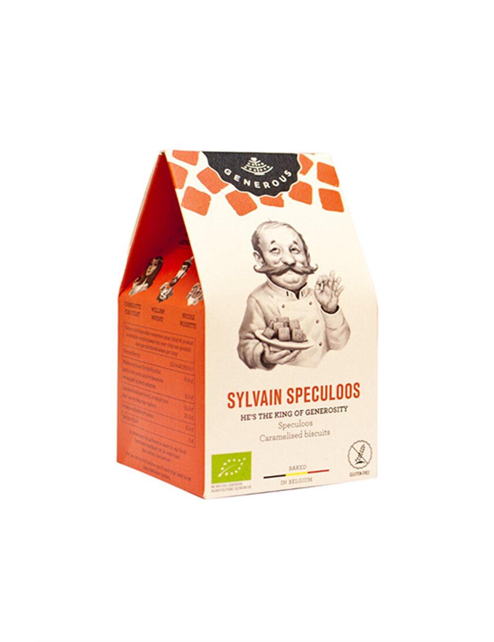 Sylvain Speculoos BIO (glutenvrij) 28g