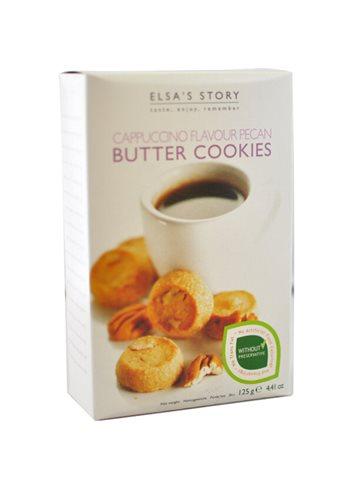 Biscuits au beurre Cappuccino et Noix Pécan 125g