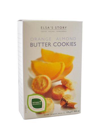 Biscuits au beurre Amande et Orange 125g